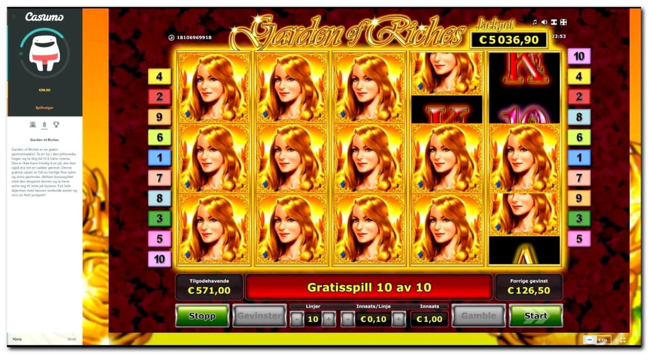 665% Match bonus at Rizk Casino