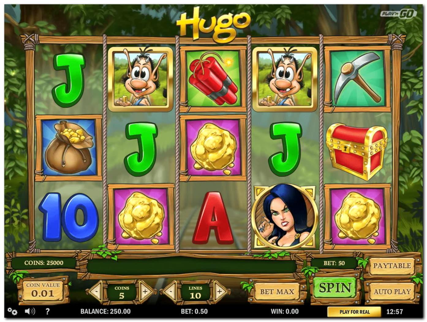 260 Free spins no deposit at Kaboo Casino