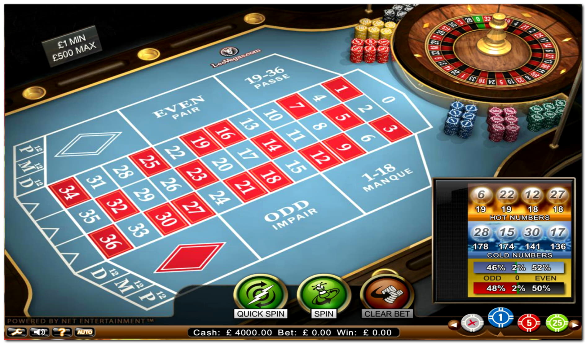 €170 free chip at Rizk Casino